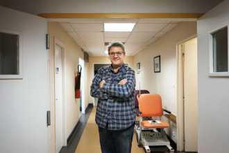 Dr Pierre Senesse, oncologue nutritionniste, responsable de l'unité transversale de nutrition à l'Institut régional du cancer de Montpellier.À Montpellier le 7 février 2018.